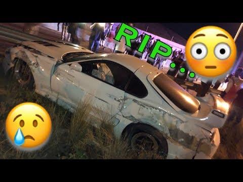 Supra crashed @ SCT Denver - Wish I was joking...