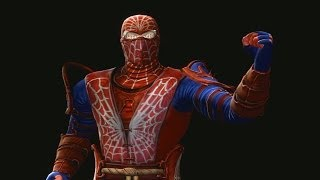 Mortal Kombat 9 Fatalities Rain Spiderman