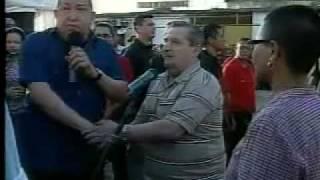 Pueblo de Sabaneta recibe con amor al Presidente Hugo Chávez