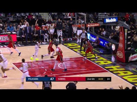 2nd Quarter, One Box Video: Atlanta Hawks vs. New Orleans Pelicans