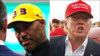 PRES.DONALD TRUMP TWEETS INSULTING RESPONSE TO LAVAR BALL