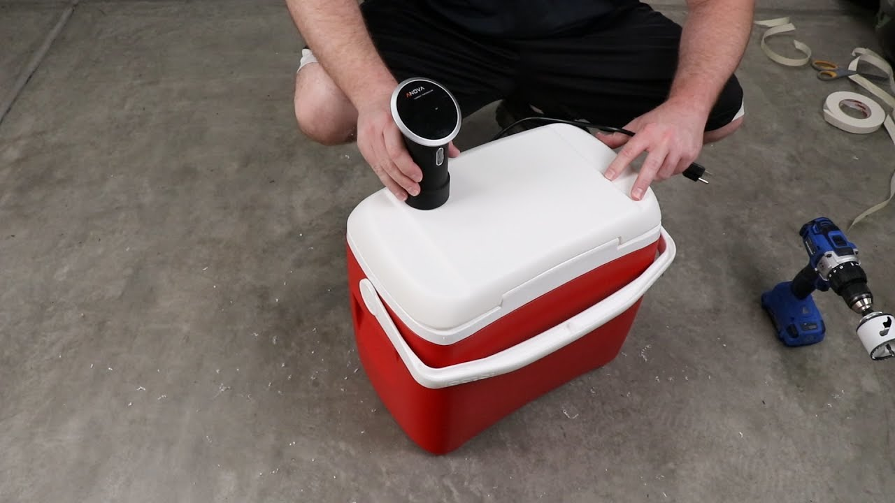 cheap and quick insulated sous vide container youtube