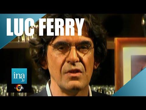 """Luc Ferry """"Kant est le plus grand des philosophes""""    Café Picouly   Archive INA"""