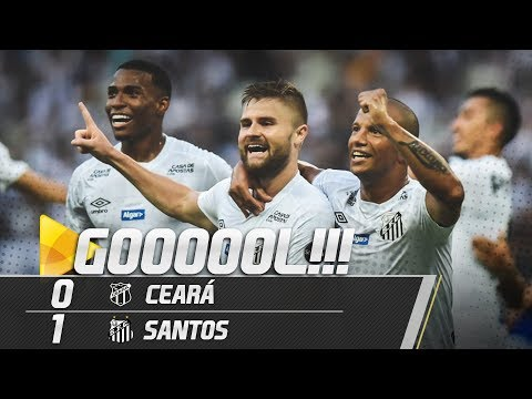CEARÁ 0 X 1 SANTOS | GOL | BRASILEIRÃO (02/06/19)