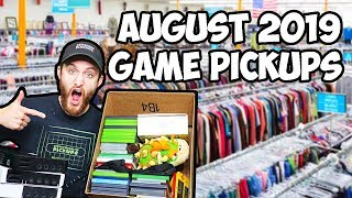 August 2019 Retro Video Game Pickups