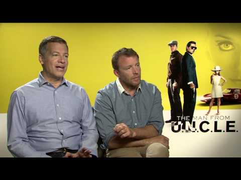 The Man from U.N.C.L.E.: Director Guy Ritchie & Lionel Wigram Official Movie Interivew