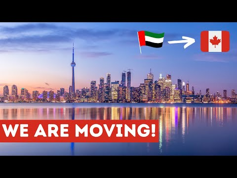 Moving from Dubai to Canada!