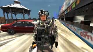GRAND THEFT AUTO IV: SWAT MOD AND S&W M15-4 REVOLVER