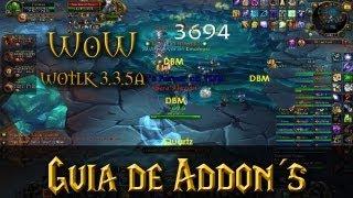 Como instalar Addons en World of Warcraft (WoW) 5.4, 4.3, 3.3.5 Todas | Instalar Recount | HD
