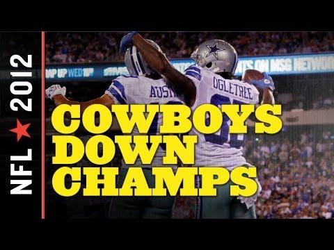 Cowboys vs. Giants 2012, NFL Week 1 - Romo Headlines Dallas Victory