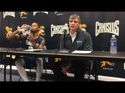 John Dunne, Trevis Wyche interview – Saint Peter's 70, Canisius 53