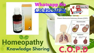R 57 ! homeopathic Lungs tonic ! chronic lungs brain and liver disease ! COPD ! Difficulty in breath