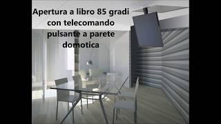 Tv ceiling flip down lift - Maior Flip 85 - product description (ENG SUB)