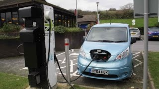 Real-world Road Test! Nissan e-NV200 Combi 2014 Review