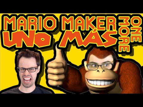 Mario Maker - A New Amazing Level Maker Appears! (UNO MAS) | One More #9