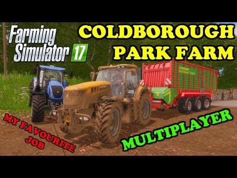 Farming Simulator 17 | Multiplayer - D. Fun4all | Timelapse | Coldborough Park Farm | Episode 3 thumbnail