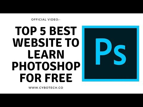 Top 5 Best Ways/Website To Learn Photoshop For Free