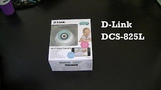 D-Link DCS-825L WiFi Baby Monitor Review