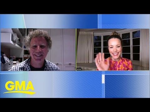 Will Ferrell and Rachel McAdams talk about their film inspired by Eurovision | GMA