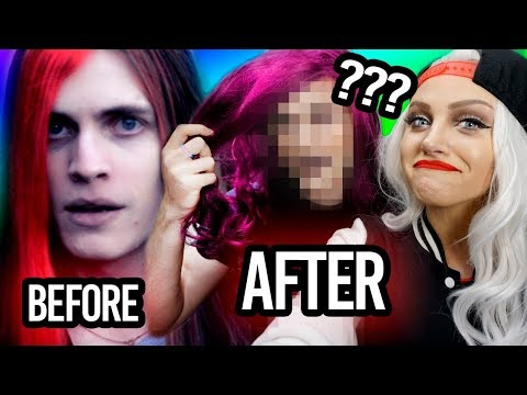I made him fabulous! | Best Friend Makeover Challenge with boyinaband