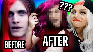 I made him fabulous!   Best Friend Makeover Challenge with boyinaband