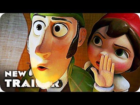 Sherlock Gnomes Trailer (2018) Johnny Depp Animated Movie