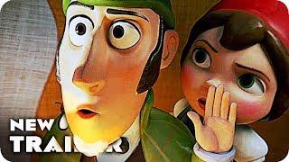 Sherlock Gnomes Trailer 2018 Johnny Depp Animated Movie