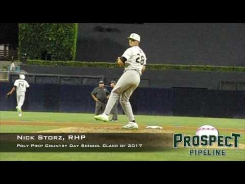 Nick Storz, RHP, Poly Prep Country Day School,Pitching Mechanics at 200 FPS