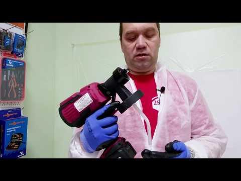 Покраска краскопультом RedVerg RD-PS18V: как настроить, как правильно красить, как разводить краску
