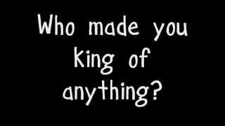 King of Anything - Sara Bareilles (Lyrics) HD