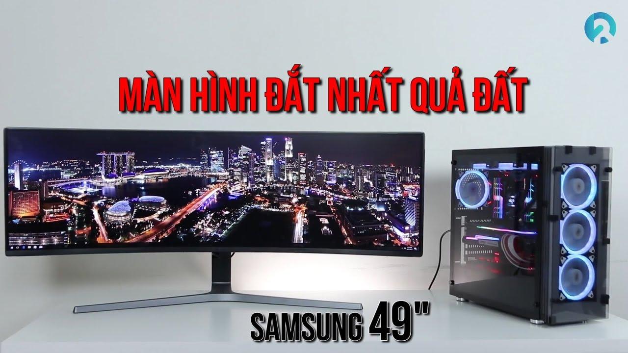 Màn hình máy tính Samsung CHG90 QLED Gaming – Màn hình đắt nhất Việt Nam | An Phat PC