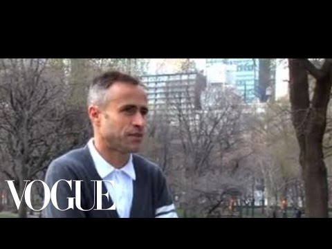 Jogging In Central Park With Thom Browne