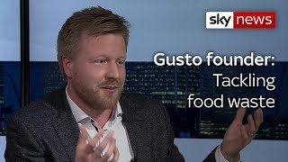 Gousto founder on the firm's efforts to tackle food waste