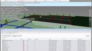 Navisworks Timeliner 4D simulation