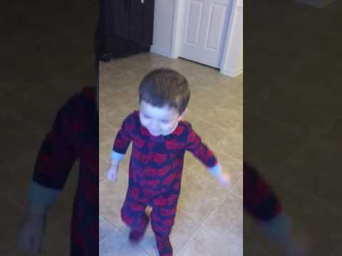 Kid Excited to See Snow