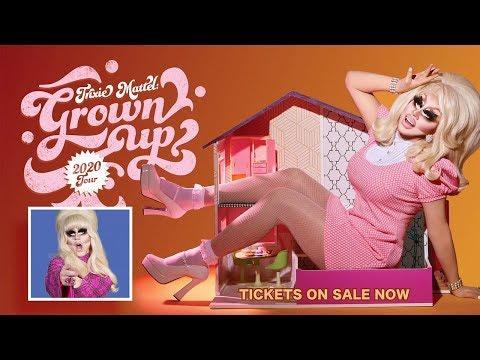 Trixie Mattel 2020 'Grown Up' Tour Announcement