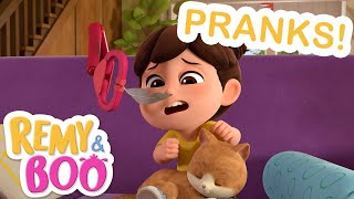 Prank Day Fun! | Remy & Boo | Universal Kids