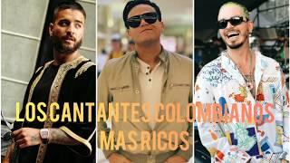 LOS CANTANTES FAMOSOS MÁS RICOS DE COLOMBIA