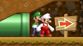 Cannon Super Mario Bros. Wii - 02 - 2 Player Co-Op