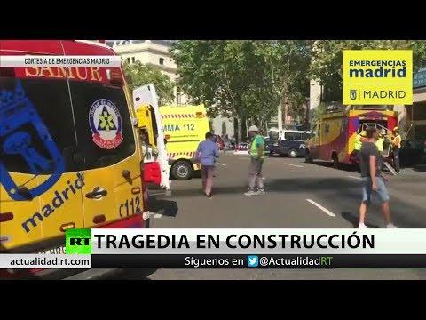 RT en Español: Un derrumbe en las obras del Ritz de Madrid deja al menos un muerto y 11 heridos