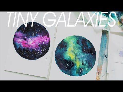 [TINY NEBULA] Watercolor Painting