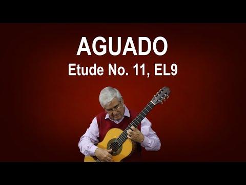 Etude No. 11, EL9 (Dionisio Aguado)