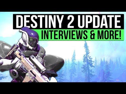 DESTINY 2 NEWS | Interviews, EDZ Reveal, Live Events, Fate of The City & PC Beta Pre-Load!