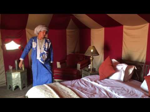 Our luxury en suite tents - Erg Chigaga Luxury Desert Camp Morocco