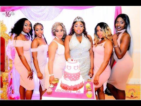 Glory Echefu @ Her Sweet 16th Birthday Celebration