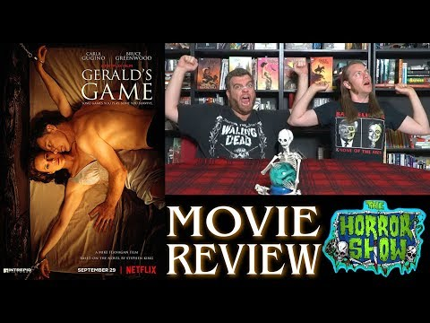 """Gerald's Game"" 2017 Netflix Stephen King Thriller Movie Review – The Horror Show"