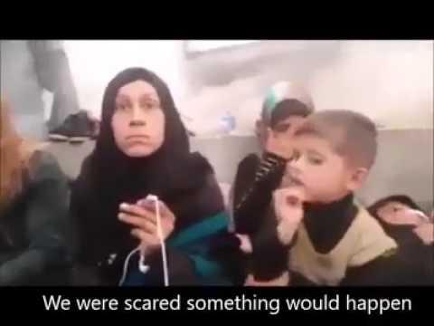 Aleppo;Syrian suicide bus blast victims