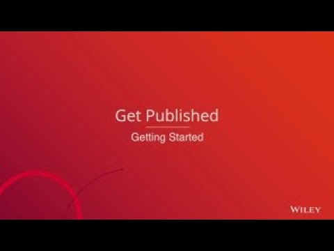 Get your research article published - getting started