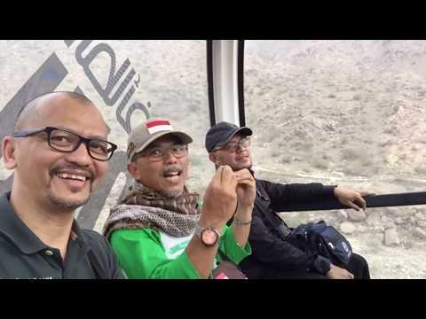 Jalan-jalan ke Taif/Thaif, Saudi Arabia: Naik Kereta Gantung/Cable Car di Al Hada Amusement Park