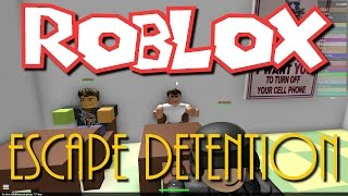 Team SBG Plays Roblox : Escape Detention! (Family Multiplayer)